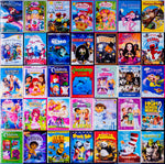 Mixed DVDs: Kids/Children