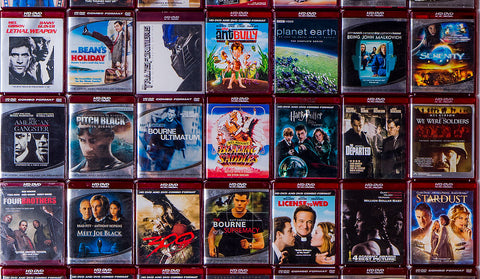 Mixed-Genre HD-DVDs