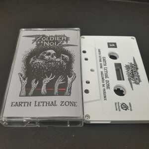 "Zoldier Noise ""Earth Lethal Zone"" Cassette Tape"