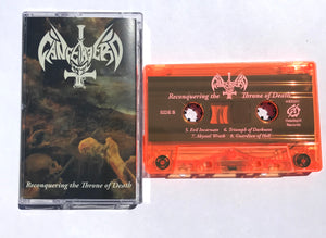 "Cancerbero ""Reconquering The Throne of Death"" Cassette Tape"