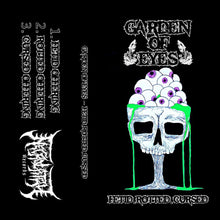 "Load image into Gallery viewer, Garden Of Eyes ""Fetid. Rotted. Cursed"" Cassette Tape"