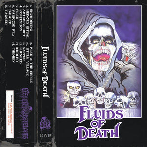 "Fluids ""Fluids of Death"" Cassette Tape"