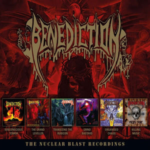 "Benediction""The Nuclear Blast Recordings"" 6CD Boxset"