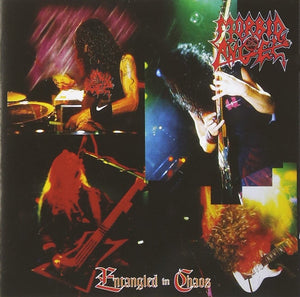 "Morbid Angel ""Entangled In Chaos LIVE"" CD"