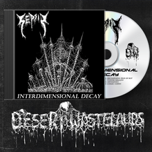 "Load image into Gallery viewer, Sepsis ""Interdimensional Decay"" Compact Disc"