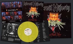 "Infernal Majesty ""None Shall Defy"" Piss Yellow Vinyl"