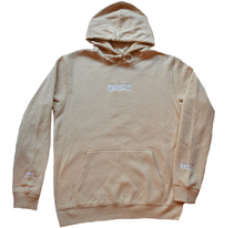 Load image into Gallery viewer, 'DYENASTY' TAN EMBROIDERY HOODIE