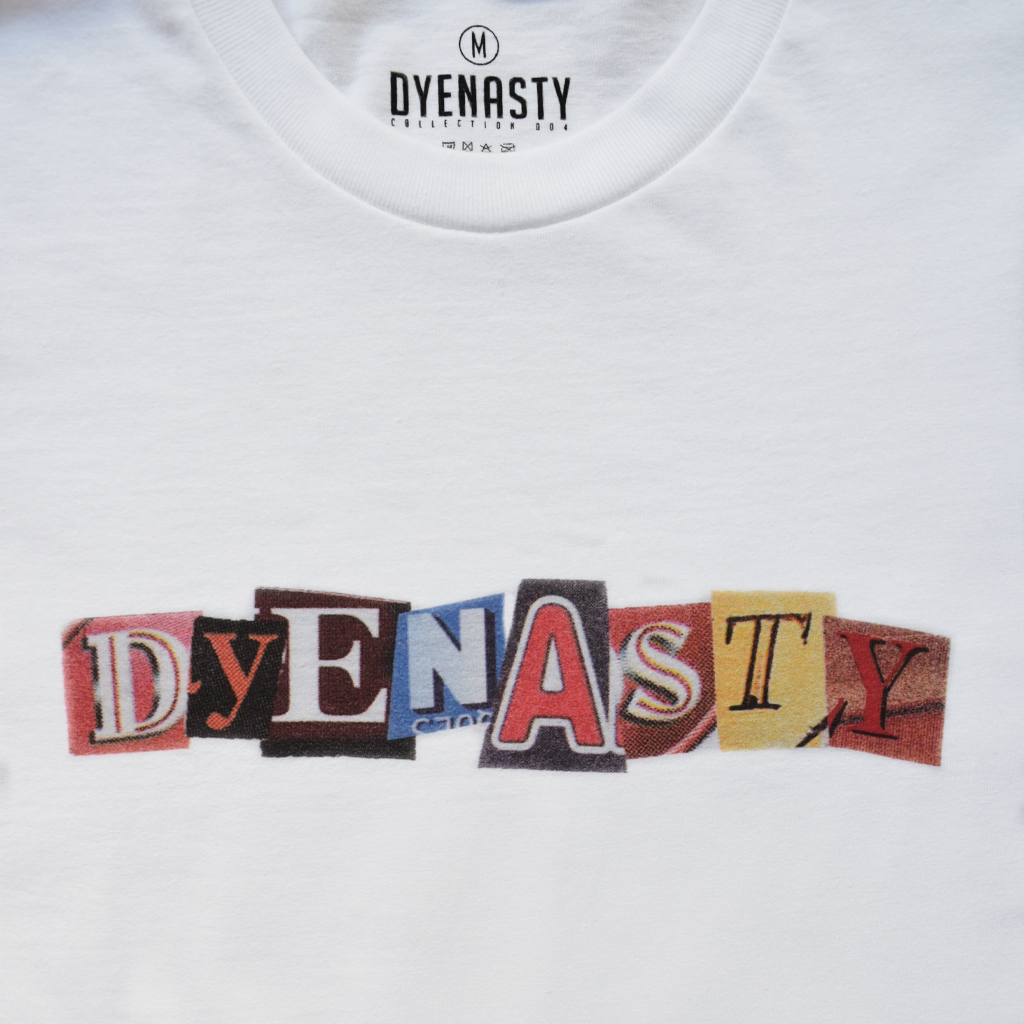 'DYENASTY' CUT OUT TEE