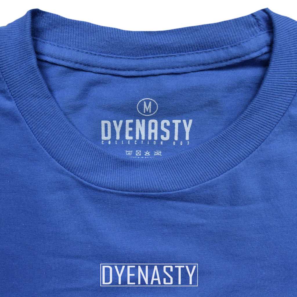 'DYENASTY' EMBROIDERY TEE (BABY BLUE)