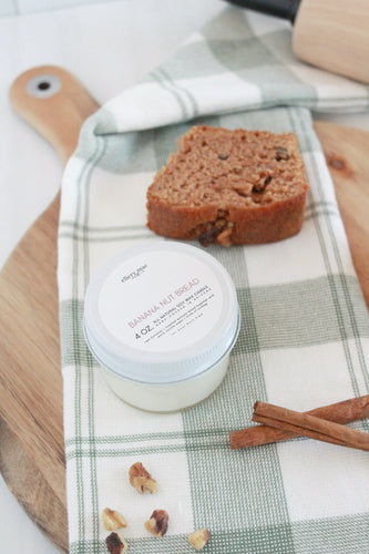 Banana Nut Bread - 4oz candle