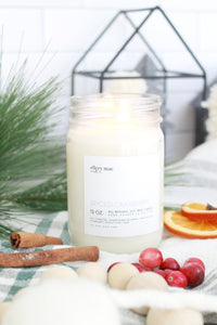 Spiced Cranberry - 12oz candle