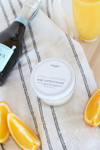 Citrus + Champagne - 4oz candle