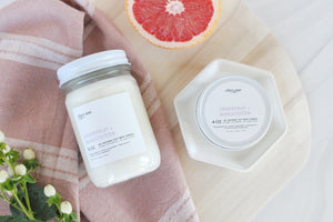 Grapefruit + Mangosteen - 12oz candle