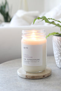 Citrus + Champagne - 12oz candle