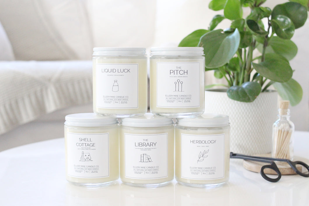 Wizarding World Inspired Collection - Full Set of 5 candles