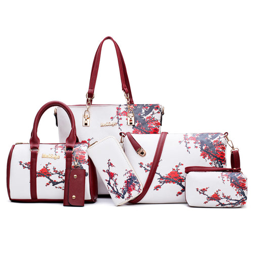 Handbag Brands 6 in 1 Set Bags Designer Bag Women Bag Handbag