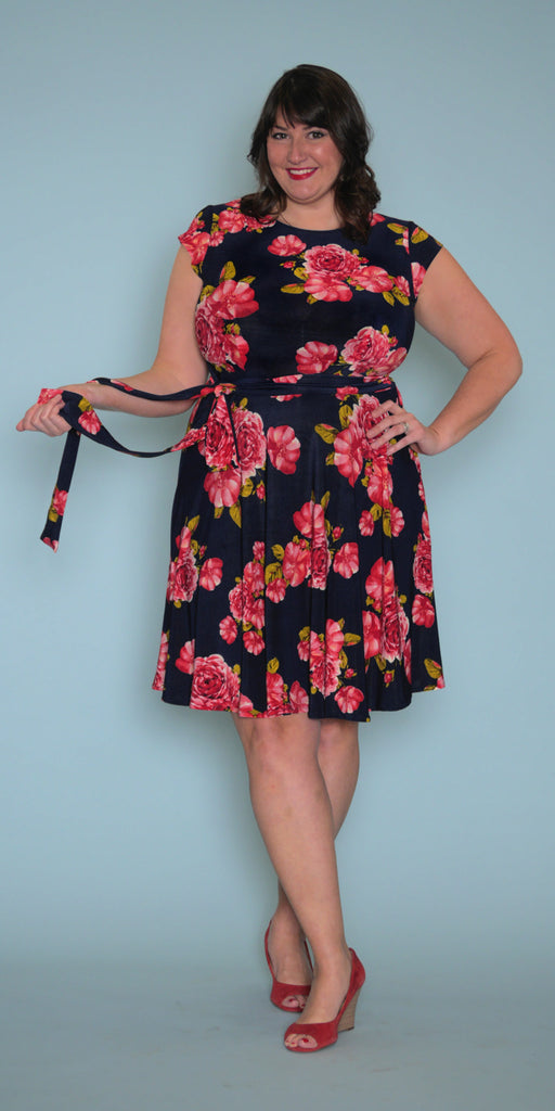 Katharine Dress in English Rose