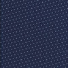 Navy with White Pin Dots