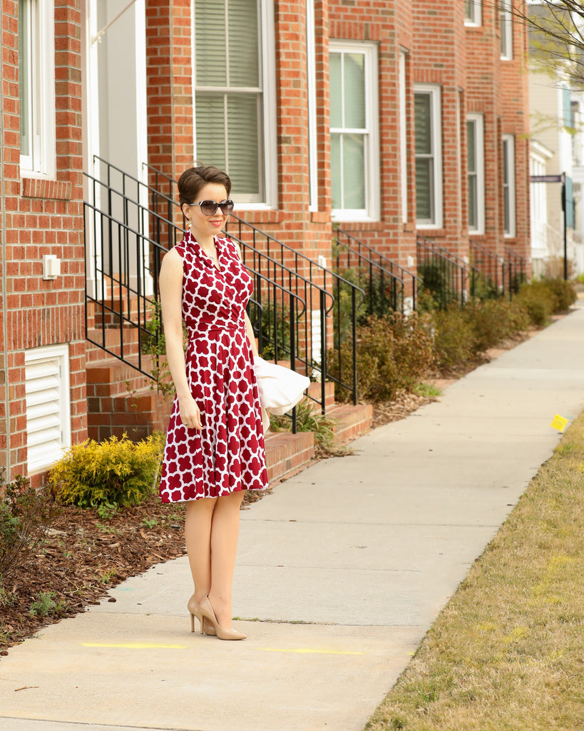 Bogi Kenney of Hampton Roads Fashion and Style in the Ruby Dress