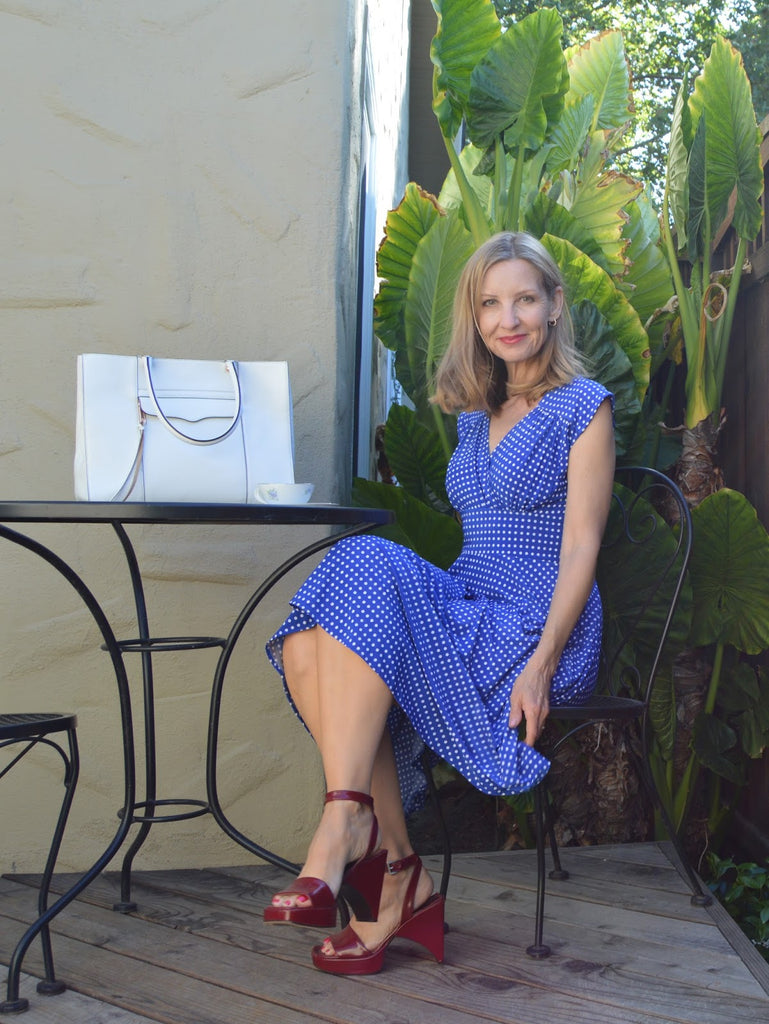 Cobalt Blue Nora Dress