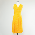 Abigail Dress in Sunshine Dot by Karina Dresses