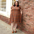 Allie Dress in Pendant Plaid by Karina Dresses