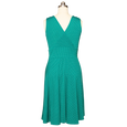 Audrey Dress - Jade Dot