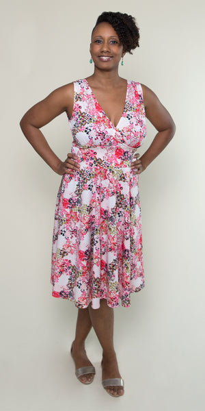 Audrey Dress in A Bit of Bouquet by Karina Dresses
