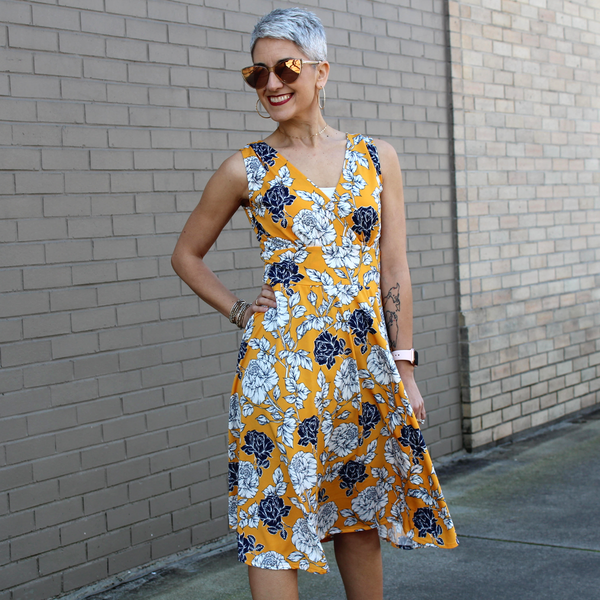 Audrey Dress in Primrose by Karina Dresses