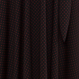 Katharine Dress - Black with Red Pin Dots