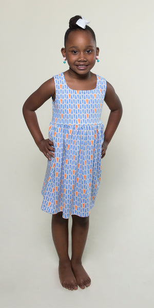 Cali Dress for Girls in Gum Drops by Karina Dresses