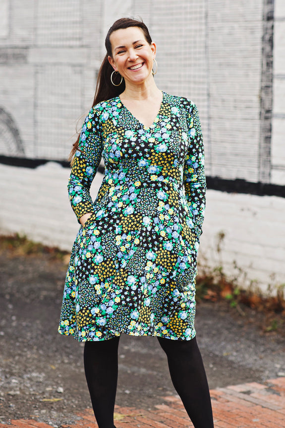 Cece Dress - Grateful Garden