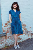 Cece Dress in Rhythm & Blues by Karina Dresses