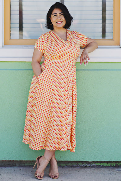 Cecelia Dress in Honeycomb by Karina Dresses