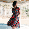 Joan Dress in Boho Vibes by Karina Dresses