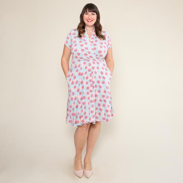 Joan Dress in Dahlia by Karina Dresses