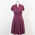 Joan Dress - Pearls in Wine