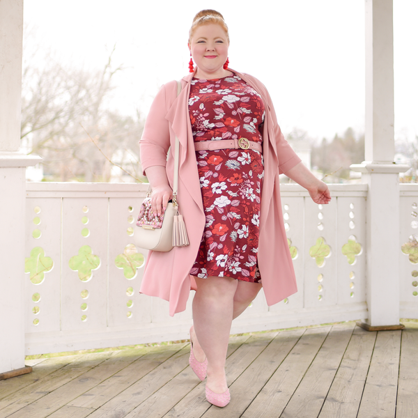 Kate Dress in Hello Hibiscus by Karina Dresses