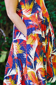 Kate Dress in Sunset Lake by Karina Dresses