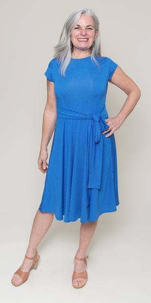 Katharine Dress in Bahama Dot