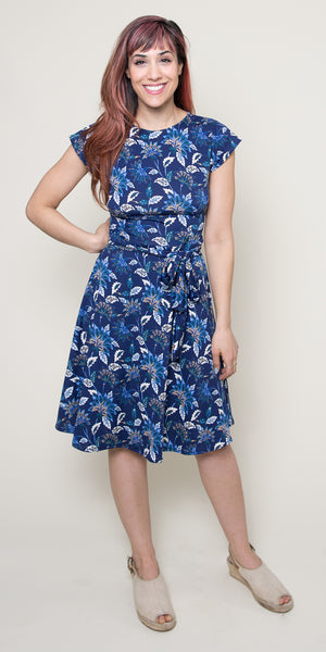 Katharine Dress - Sapphire Song