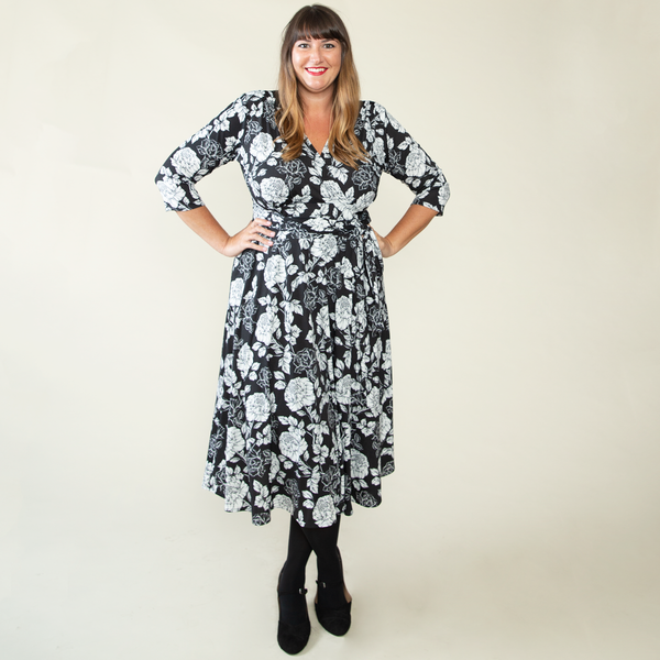 Margaret Dress in Friday Floral by Karina Dresses