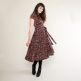 Margaret Dress in Falling Leaves by Karina Dresses