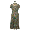 Margaret Dress in Green Canyon by Karina Dresses