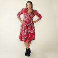 Megan Dress in Happy Hour by Karina Dresses
