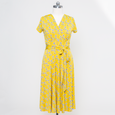 Margaret Dress in Golden Rod By Karina Dresses