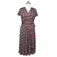Margaret Dress in Plaid by Karina Dresses