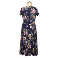 Margaret Dress in Blue Blossoms by Karina Dresses