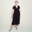 Margaret Dress in Black by Karina Dresses