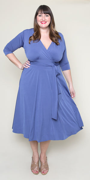 Margaret Dress - Bonjour Blue